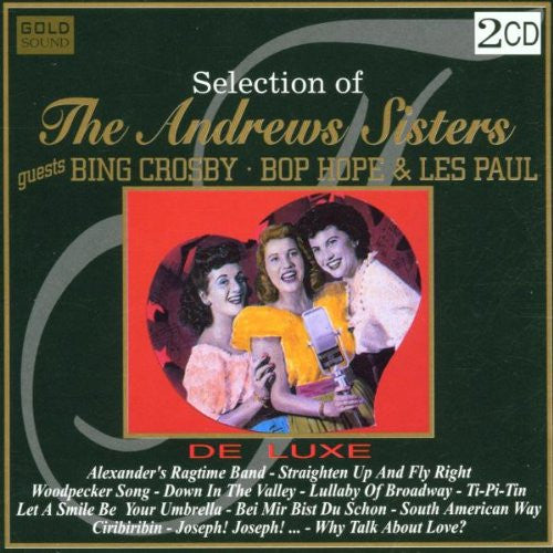 Andrews Sisters - Selections Of Andrews Sisters-CDs-Palm Beach Bookery
