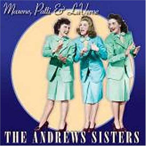 Andrews Sisters - Maxene Patti & Laverne-CDs-Palm Beach Bookery