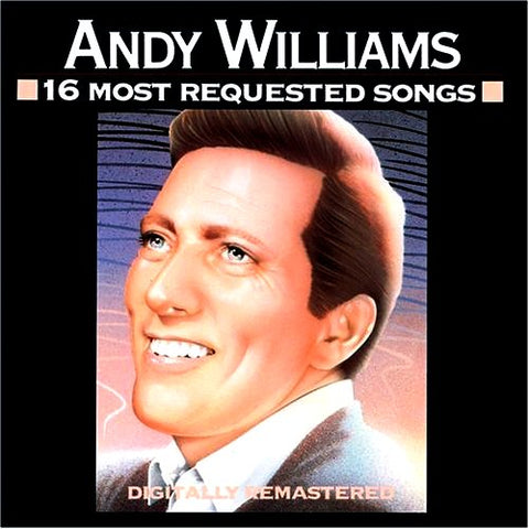 Andy Williams - 16 Most requested Songs-CDs-Palm Beach Bookery