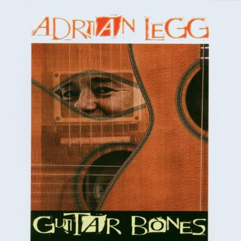 Adrian Legg - Guitar Bones-CDs-Palm Beach Bookery