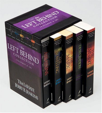 Left Behind Collection: Volumes 6-10 (Slipcase) (9/15/03)-Book-Palm Beach Bookery