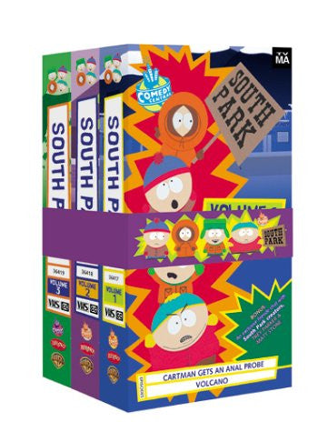 South Park Gift Pack Volumes 1-3 [VHS]-Video-Palm Beach Bookery
