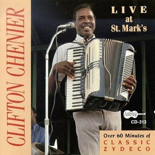 Clifton Chenier - Live at St Mark's-CDs-Palm Beach Bookery