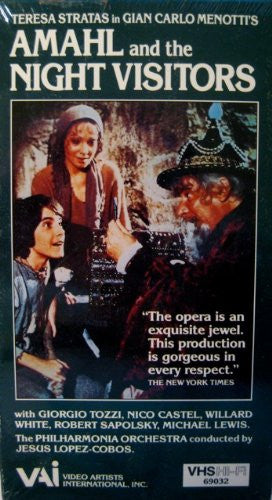 Menotti: Amahl and the Night Visitors [VHS]-Video-Palm Beach Bookery