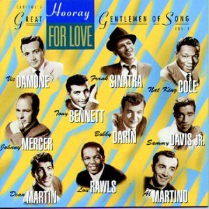 Various Artists - Hooray For Love: Capitol's Great Gentlemen Of Song, Vol. 1-CDs-Palm Beach Bookery