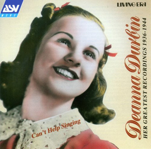 Deanna Durbin - Can't Help Singing: Deanna Durbin 1936-1944-CDs-Palm Beach Bookery