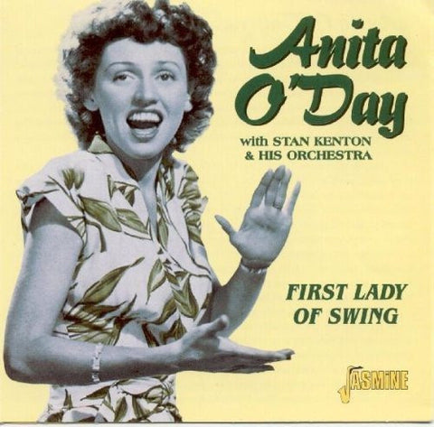 Anita O'Day - First Lady Of Swing-CDs-Palm Beach Bookery