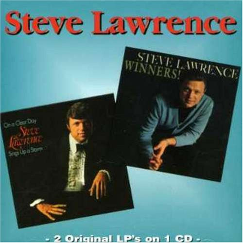 Steve Lawrence - Winners / On a Clear Day-CDs-Palm Beach Bookery