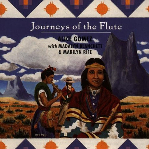 Alice Gomez - Journeys of the Flute-CDs-Palm Beach Bookery