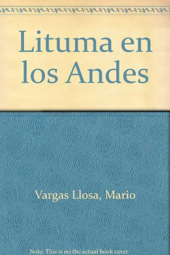 Lituma En Los Andes/Spanish (Spanish Edition)-Book-Palm Beach Bookery