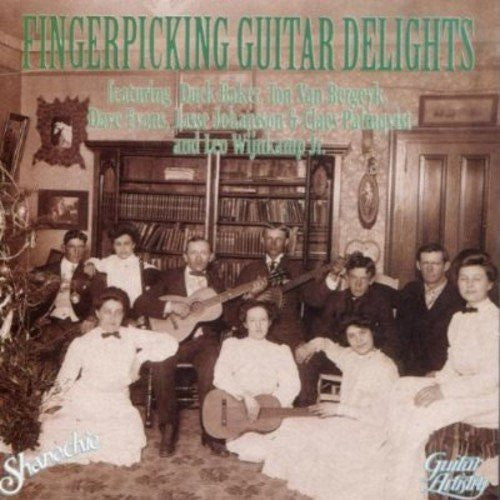 Fingerpicking Guitar Delights-CDs-Palm Beach Bookery
