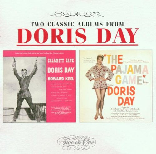 Doris Day - Calamity Jane (1953 Film) / Pajama Game (1957 Film) [2 on 1]-CDs-Palm Beach Bookery