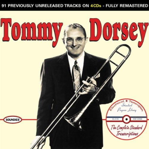 Tommy Dorsey - Complete Standard Transcripts (4 CD Set)-CDs-Palm Beach Bookery