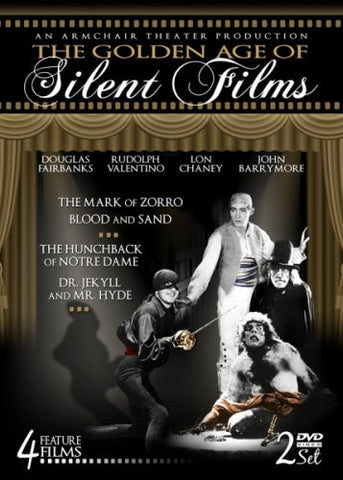 Golden Age of Silent Films (DVD)-DVD-Palm Beach Bookery