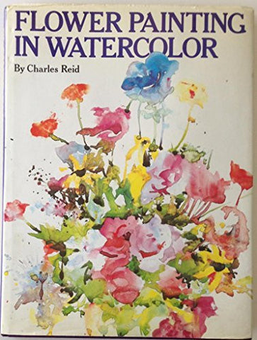 Flower Painting in Watercolor-Book-Palm Beach Bookery