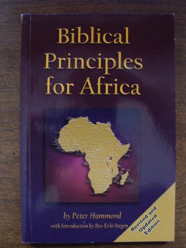 Biblical Principles for Africa-Book-Palm Beach Bookery