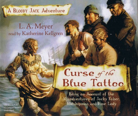 Curse of the Blue Tattoo (Bloody Jack Adventures (Audio))-Audiobooks-Palm Beach Bookery