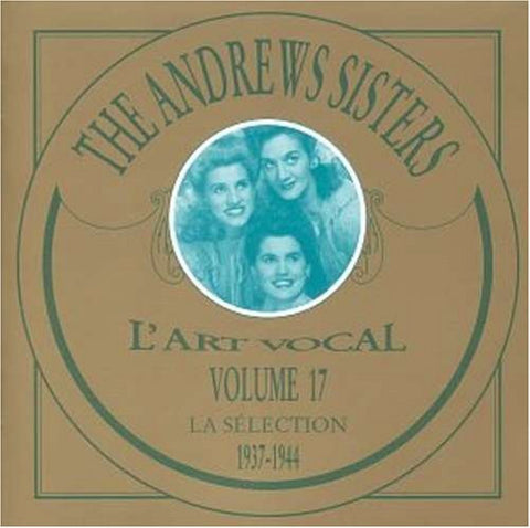 Andrews Sisters - 1937-1944-CDs-Palm Beach Bookery