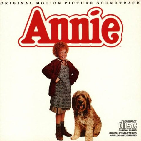 Annie (Original 1982 Motion Picture Soundtrack)-CDs-Palm Beach Bookery