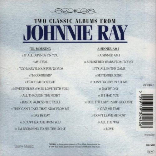 Johnny Ray - Til Morning / Sinner I Am-CDs-Palm Beach Bookery