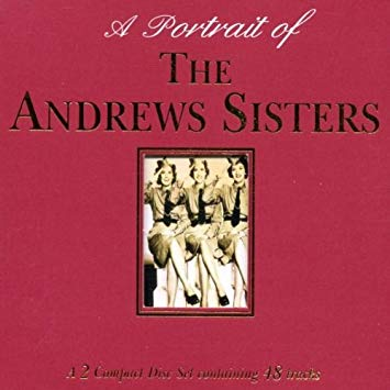 "Andrews Sisters - A Portrait Of ""Gallerie""-CDs-Palm Beach Bookery"
