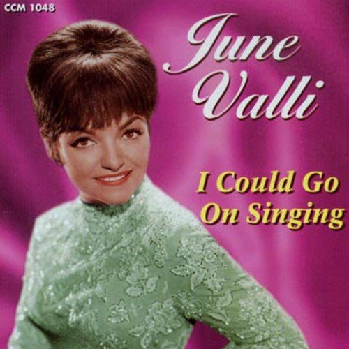 June Valli - I Could Go on Singing-CDs-Palm Beach Bookery