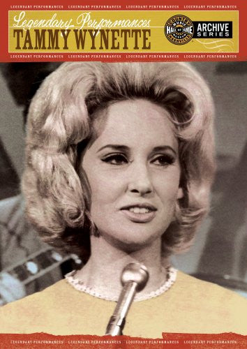 Legendary Performances: Tammy Wynette-DVD-Palm Beach Bookery