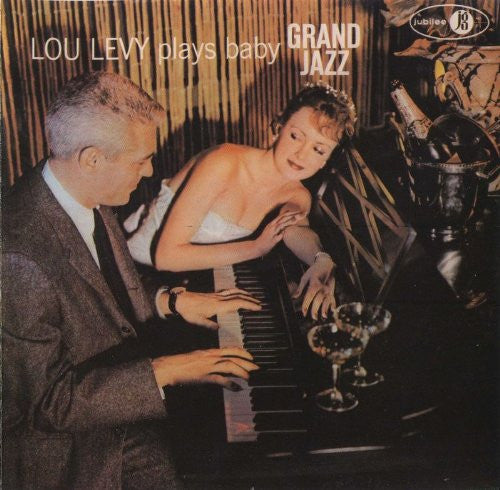 Lou Levy - Lou Levy Plays Baby Grand Jazz-CDs-Palm Beach Bookery