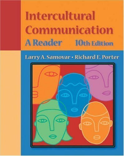Intercultural Communication: A Reader (with InfoTrac) by Samovar, Larry A. Published by Wadsworth Publishing 10th (tenth) edition (2002) Paperback-Book-Palm Beach Bookery