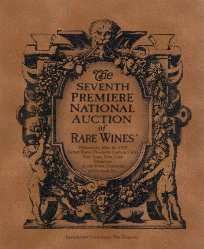 The Seventh Premiere National Auction of Rare Wines-Book-Palm Beach Bookery