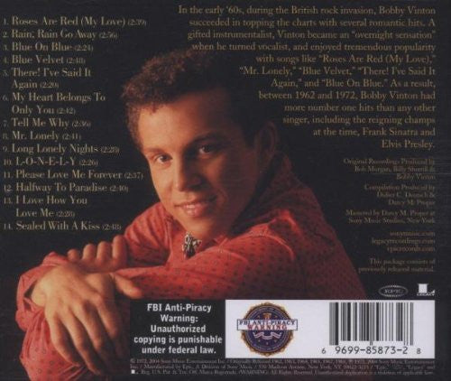 Bobby Vinton - Best of - Palm Beach Bookery