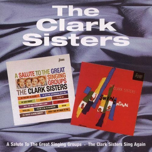 Clark Sisters - A Salute To The Great Singing Groups - Swing Again-CDs-Palm Beach Bookery