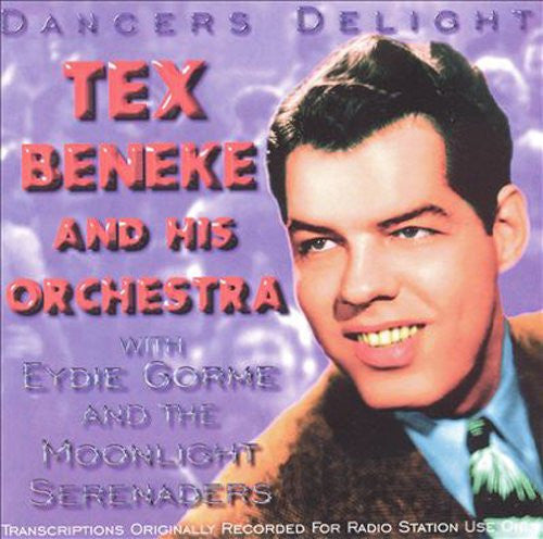 Tex Beneke - Dancers Delight-CDs-Palm Beach Bookery