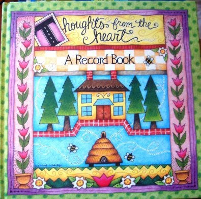 Thoughts from the Heart Record Book-Book-Palm Beach Bookery