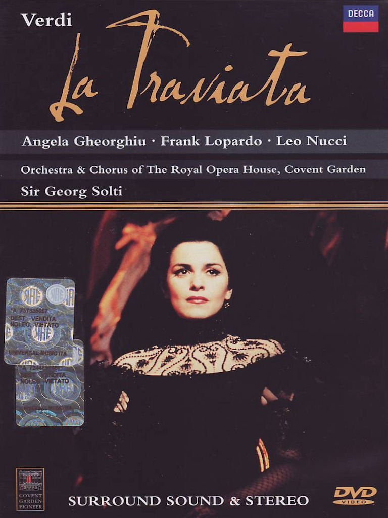 Verdi - La Traviata / Richard Eyre, Solti, Gheorghiu, Lopardo, Nucci, ROH Covent Garden-DVD-Palm Beach Bookery
