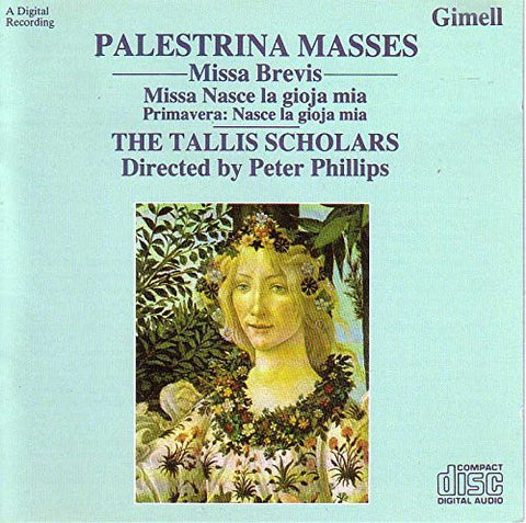 Giovanni Palestrina - Palestrina Masses, Missa Brevis-CDs-Palm Beach Bookery