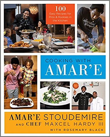 Cooking With Amar'e-Book-Palm Beach Bookery