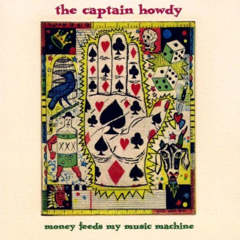 Captain Howdy - Money Feeds My Music Machine-CDs-Palm Beach Bookery