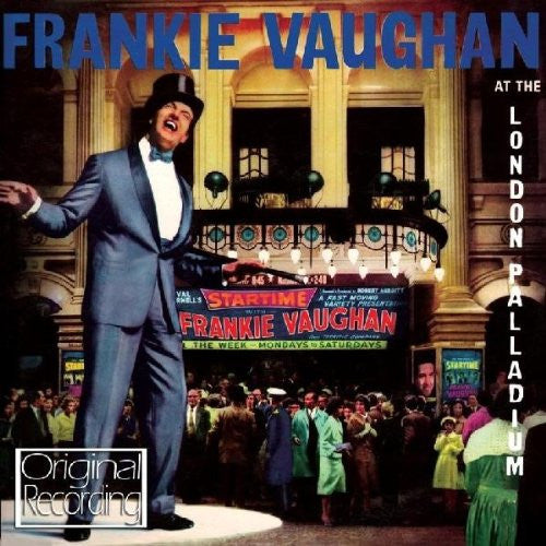 Frankie Vaughan At The London Palladium-CDs-Palm Beach Bookery