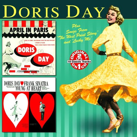 Doris Day - Young at Heart - April in Paris-CDs-Palm Beach Bookery