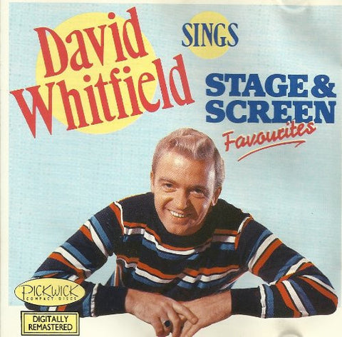 David Whitfield - David Whitfield Sings Stage And Screen Favourites-CDs-Palm Beach Bookery