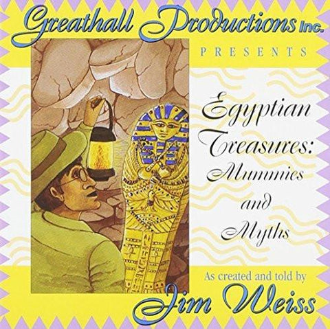 Egyptian Treasures: Mummies and Myths-CD's-Palm Beach Bookery