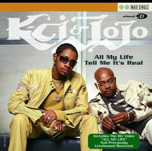 K-CI & JoJo - All My Life / Tell Me It's Real-CDs-Palm Beach Bookery