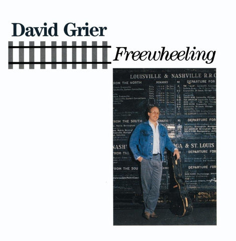 David Grier - Freewheeling-CDs-Palm Beach Bookery