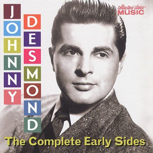 Johnny Desmond - Complete Early Sides-CDs-Palm Beach Bookery