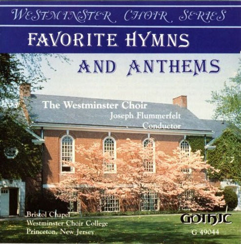 Felix Mendelssohn - Favorite Hymns & Anthems (Westminster Choir)-CDs-Palm Beach Bookery