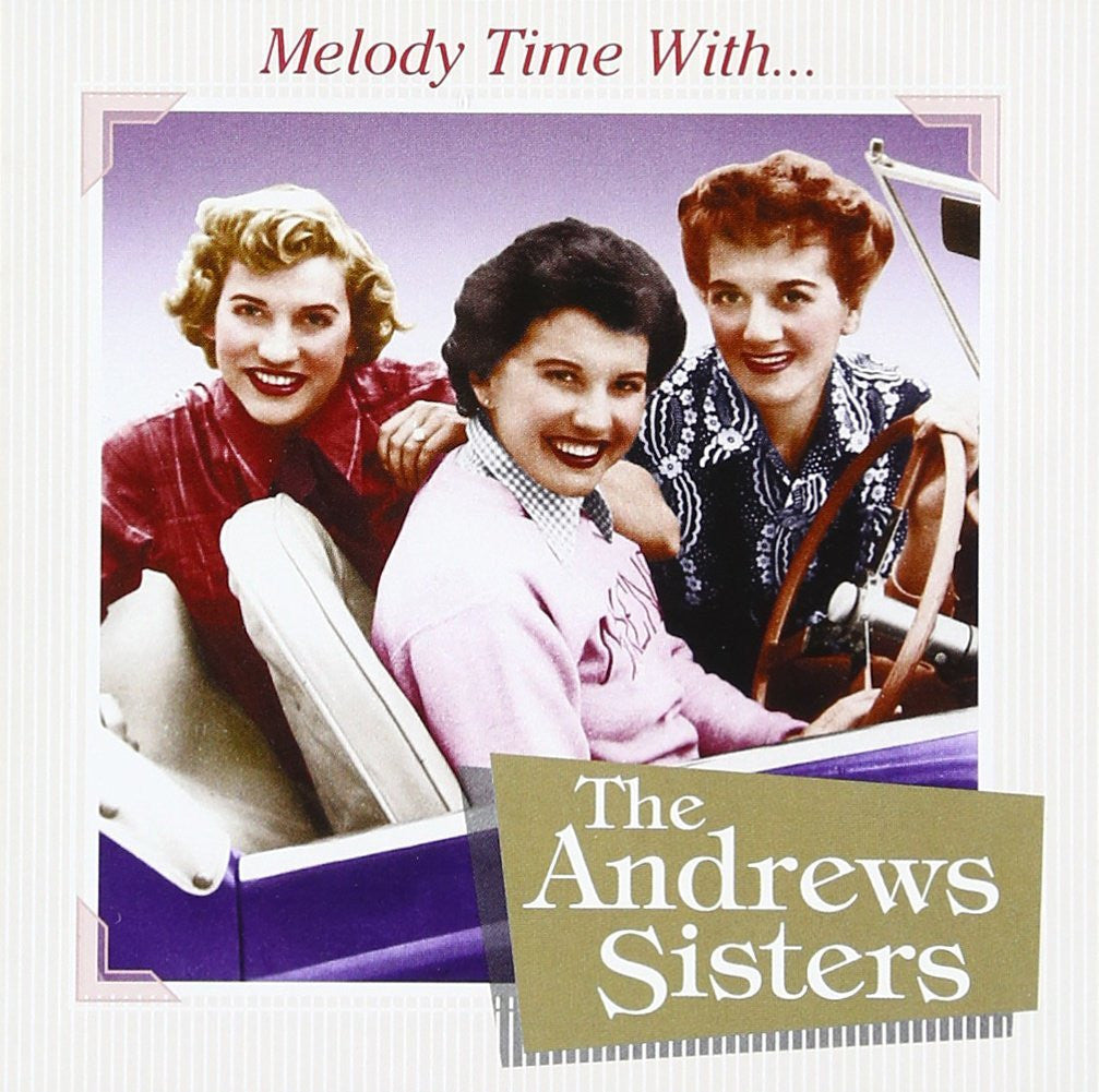 Andrews Sisters - Melody Time With The Andrews Sisters-CDs-Palm Beach Bookery