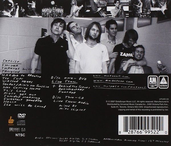 Maroon 5 - Live Friday the 13th-CDs-Palm Beach Bookery
