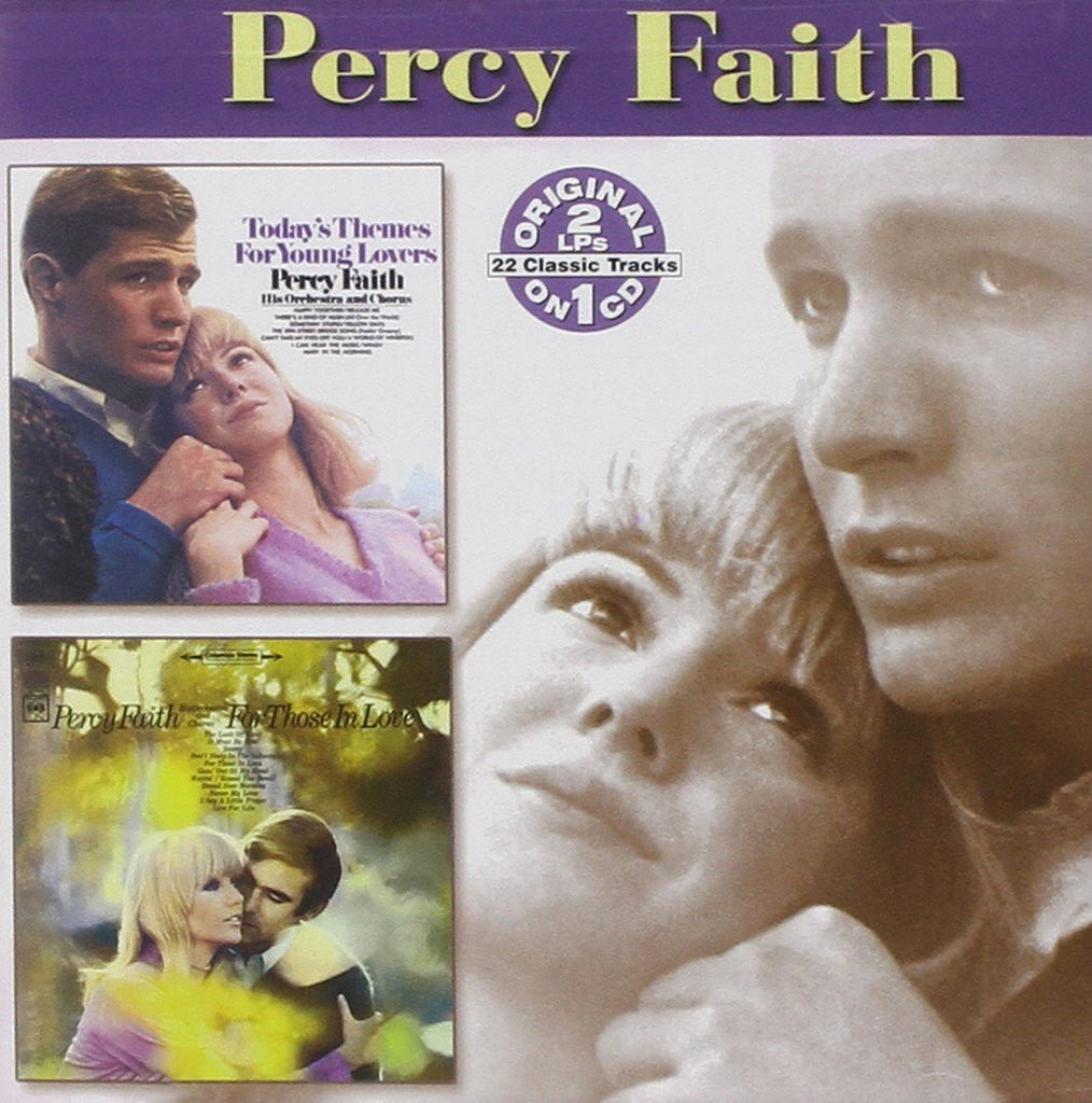 Percy Faith - Today's Themes for Young Lovers / For Those Love-CDs-Palm Beach Bookery