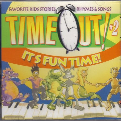 Various Artists - Time Out #2: It's Fun Time-CDs-Palm Beach Bookery